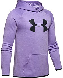 Girls' Armour Fleece® Big Logo Twist Hoodie