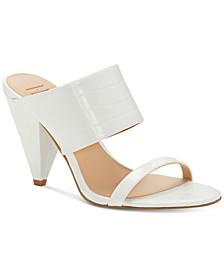 INC Women's Lovisha Double-Strap Slide Heels, Created for Macy's