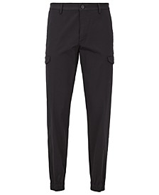 BOSS Men's Keen Tapered-Fit Cargo Trousers