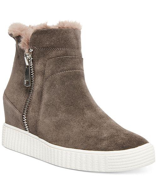 STEVEN NEW YORK Women's Bamby Wedge Sneakers