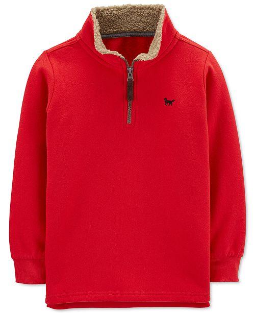 Carter's Little & Big Boys 1/2-Zip Sweatshirt