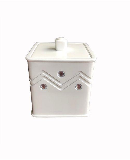 Popular Bath Diamond Wave Cotton Jar