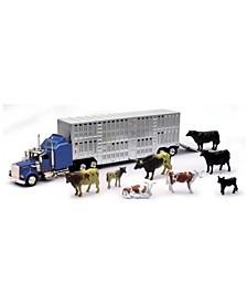 New Ray 1:43 Livestock Playset