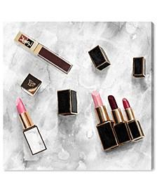 "Classic Lipsticks Canvas Art - 43"" x 43"" x 1.5"""