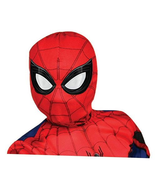 BuySeasons Spider - Man, Far From Home Deluxe Child Spider - Man Lenticular Fabric Mask