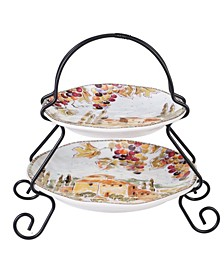 Tuscan Breeze 2-Tier Server
