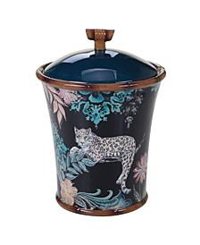 Exotic Jungle Biscuit Jar