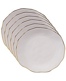 Certified International 6-Pc. Canape Plates