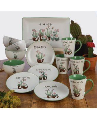 Desert Bloom Rectangular Platter