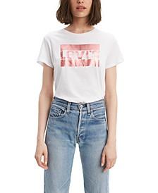 Rose Gold Logo T-Shirt