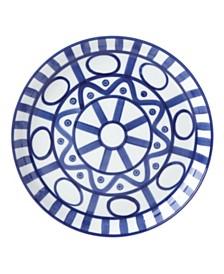 Dansk Dinnerware, Arabesque Blue  Luncheon Plate