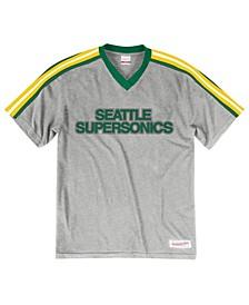 Men's Seattle SuperSonics Overtime Win V-Neck T-Shirt