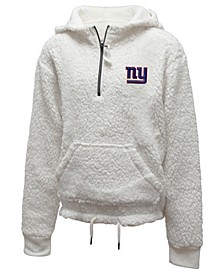 Big Girls New York Giants Sherpa Pullover