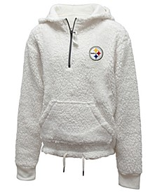 Big Girls Pittsburgh Steelers Sherpa Pullover