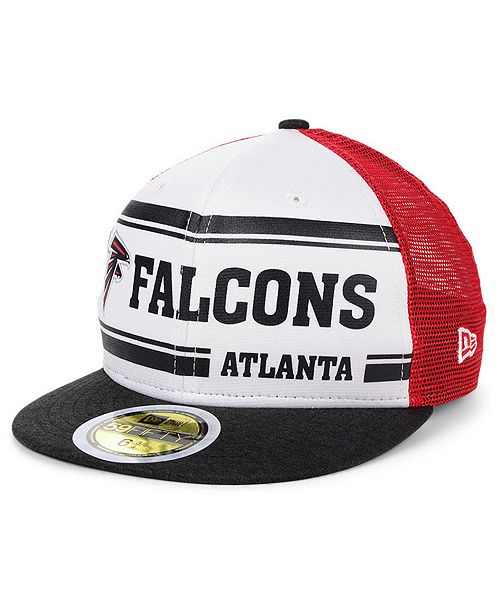 New Era Boys' Atlanta Falcons On-Field Sideline Home 59FIFTY-FITTED Cap