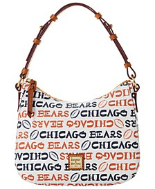 Chicago Bears Doodle Small Kiley Hobo