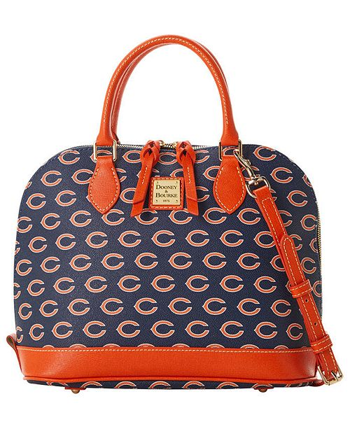 Dooney & Bourke Chicago Bears Saffiano Zip Satchel