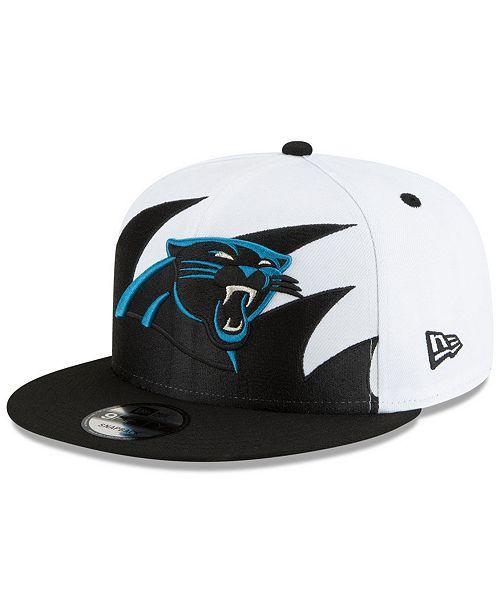 New Era Carolina Panthers Vintage Sharktooth 9FIFTY Cap