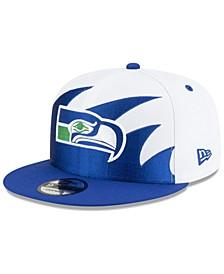Seattle Seahawks Vintage Sharktooth 9FIFTY Cap