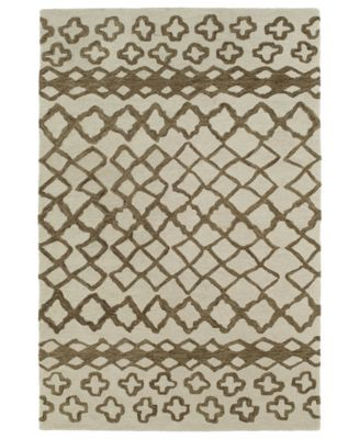 Casablanca CAS01-49 Brown 2' x 3' Area Rug