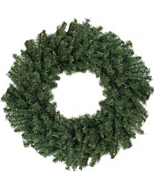 "24"" Canadian Pine Artificial Christmas Wreath - Unlit"