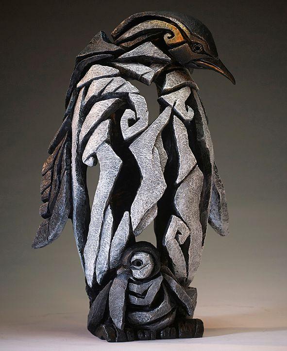 Enesco Edge Penguin Figure