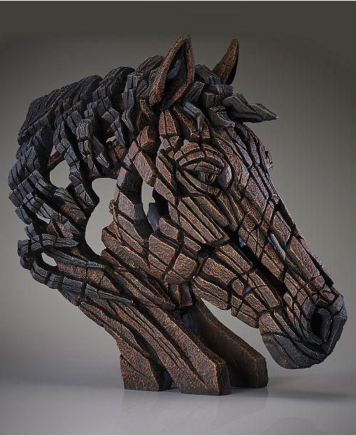 Enesco Edge Horse Bust