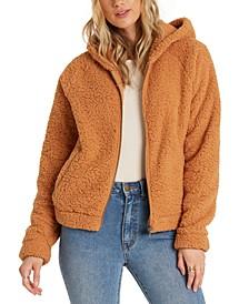 Juniors' Hooded Fleece Jacket