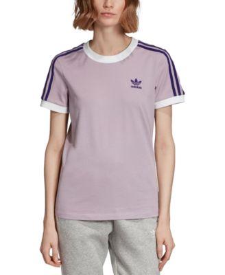 adidas adicolor 3 stripe t shirt