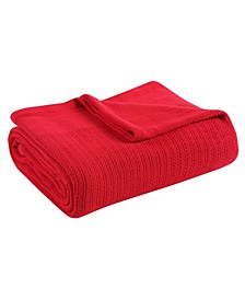 Classic Thermal Cotton Blanket - King