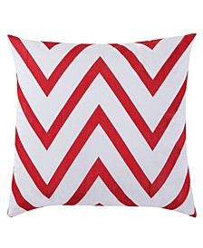 "Chevron 18"" x 18"" Decorative Pillow"