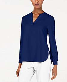 Split-Neck Top