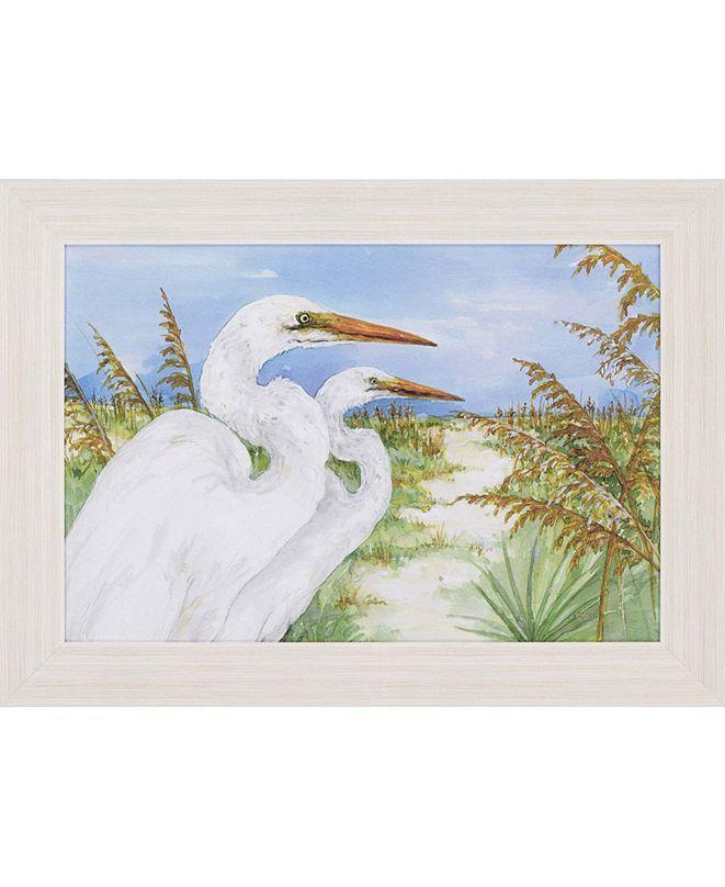 "Paragon Great Egrets Framed Wall Art, 31"" x 43"""