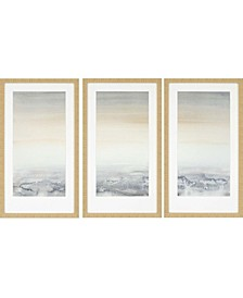 "Sable Island Framed Wall Art Set of 3, 32"" x 18"""