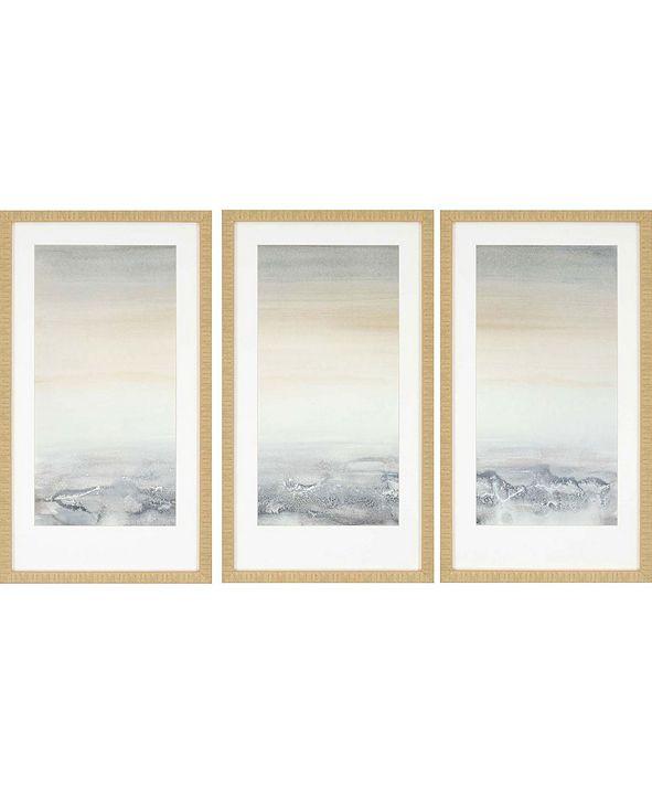 "Paragon Sable Island Framed Wall Art Set of 3, 32"" x 18"""