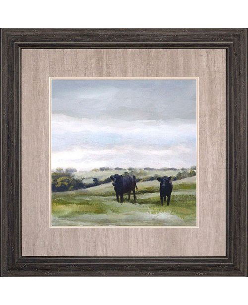 """Paragon To Pasture Fresh Framed Wall Art, 34"""" x 34"""""""