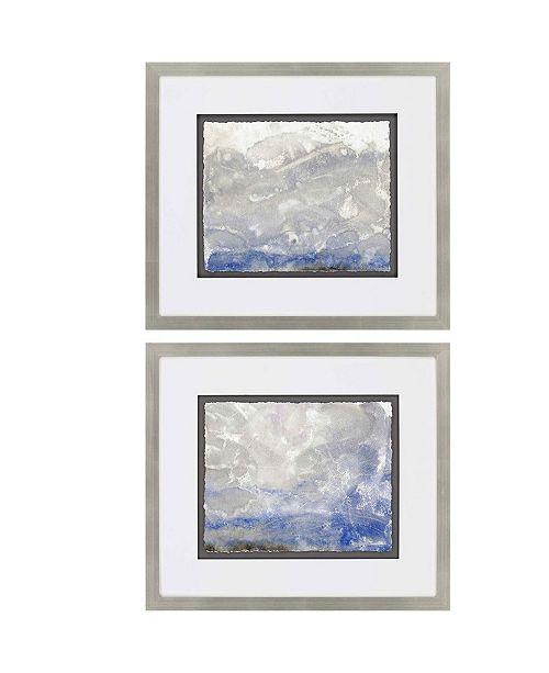 "Paragon Foggy Ride Framed Wall Art Set of 2, 29"" x 33"""