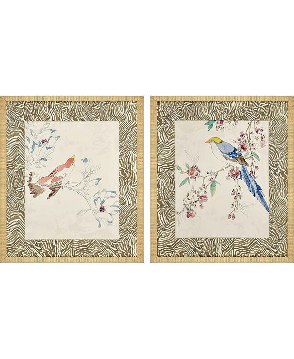 "Paragon Rustic Paradise I Framed Wall Art Set of 2, 28"" x 24"""