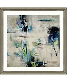 "Spring Blu Framed Wall Art, 45"" x 45"""