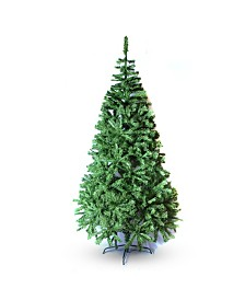 Holiday Lane Dreamland 4 Rose Gold Tinsel Tree With 100 Lights Created For Macy S Reviews Christmas Trees Home Macy S