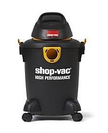 6 Gallon 3.5 Peak HP High Performance Wet Dry Vacuum