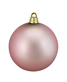 """Bubblegum Pink Shatterproof Matte Christmas Ball Ornament 12"""" 300mm"""
