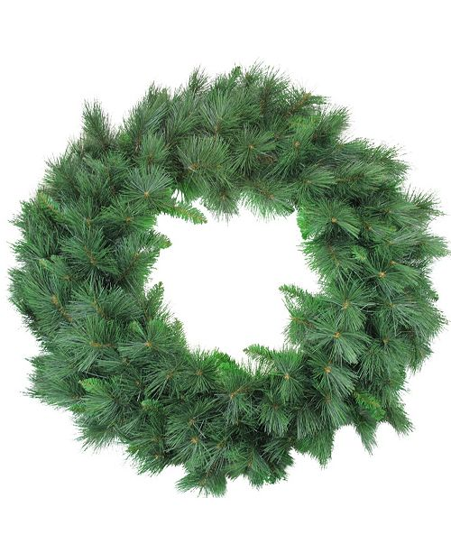 Northlight White Valley Pine Artificial Christmas Wreath - 48-Inch Unlit