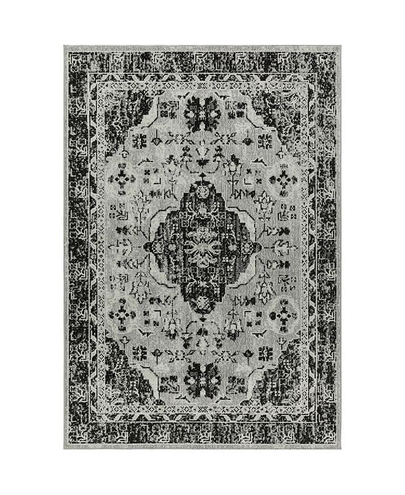 Nicole Miller  Patio Starlight Willow Gray Area Rug Collection