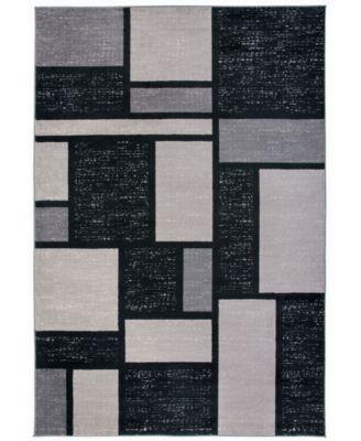 Alba Alb308 Gray 9' x 12' Area Rug