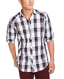 INC Men's Marc Plaid Shirt, Created for Macy's