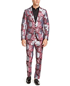 INC Men's Rose Jacquard Suit Seperates, Created For Macy's