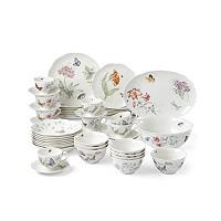 Lenox Butterfly Meadow 50-Piece Dinnerware Set Service for 8