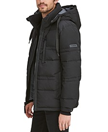 Men's Huxley Crinkle Down Jacket with Removable Hood
