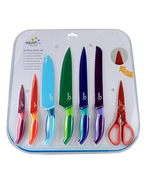 Squish 14 Piece Cutlery Set